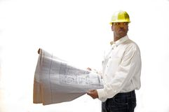 African American Contractor Royalty Free Stock Image