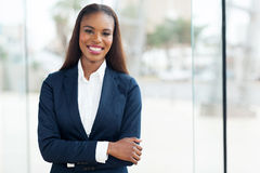 African american corporate worker Stock Images