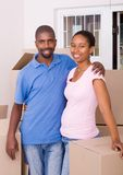 African american couple Royalty Free Stock Photography