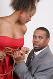 African American Couple. Portrait of an African American couple Stock Photo
