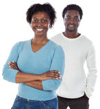 African american couple Stock Images