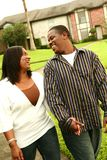 African American Couple Doing Royalty Free Stock Image