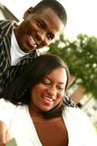 African American Couple Enjoyi Royalty Free Stock Photo