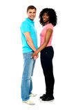African American couple in love Royalty Free Stock Photos