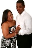 African American Couple Receiv Royalty Free Stock Photo
