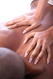 African American Couple at Spa royalty free stock photo