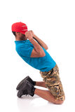 African American dancer hip hop   Royalty Free Stock Image