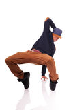 African American dancer hip hop   Stock Photography