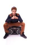 African American dancer hip hop   Stock Images