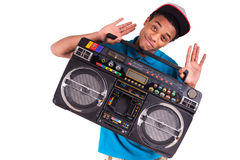 African American dancer hip hop   Royalty Free Stock Photo