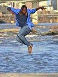 African American dancer / model in Richmond, VA. African American model and dancer in Richmond Virginia Stock Images