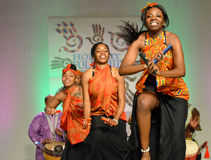 African American Dancers Royalty Free Stock Images
