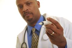 African American doctor Stock Photos