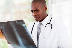 African american doctor Stock Image