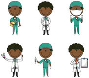 African-American Doctors Stock Image