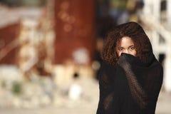 African-American em uma forma do estilo de vida Fotografia de Stock