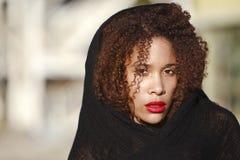 African-American em uma forma do estilo de vida Fotos de Stock
