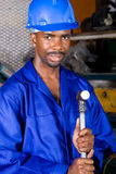 African american factory worker Stock Photography