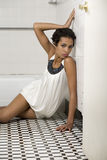African American Fashion Model Stock Photography