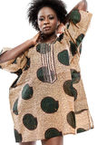 African-american fashion model. Royalty Free Stock Image