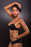 African american fashion model Stock Image