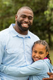 African American father and daughter. Stock Images