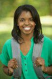 African American female student Stock Images