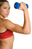 African American Fitness stock photography