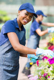 African american florist Royalty Free Stock Images