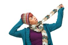 African American Funny Expression Stock Images