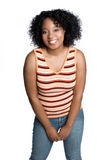 African American Girl. Beautiful african american girl smiling Stock Photography