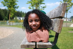 African American Girl Royalty Free Stock Image