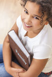 African American Girl Child Book Photo Album Royalty Free Stock Photo