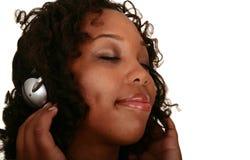 African American Girl Enjoying Stock Photo