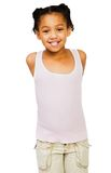 African American girl posing Royalty Free Stock Photo