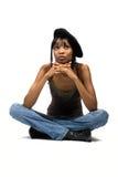 african american girl young Στοκ Εικόνες