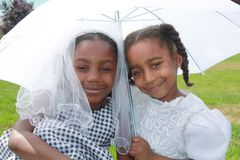 African American Girls stock photography