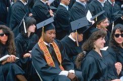 African-American graduate, Stock Image