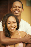 African american happy couple Stock Photography