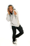 African American headset Stock Images