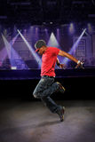 African American Hip Hop Dancer Stock Image