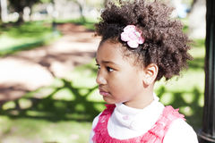 African american little girl Stock Images