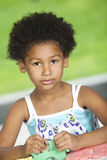 African american little girl Stock Photography