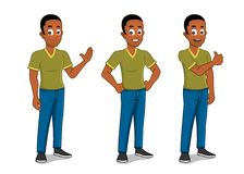 African american male Stock Image