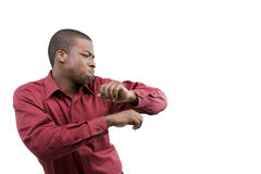 African American Male Model Royalty Free Stock Image