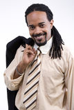 African American Male Model Royalty Free Stock Photo