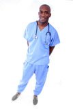African American Male Nurse Stock Image