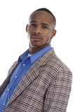 African American Male in sports coat Stock Photos
