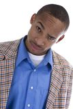 African American Male in sports coat Royalty Free Stock Photography