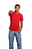 African American Male Teenager Royalty Free Stock Image